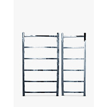 Buy John Lewis Peel 1250 Central Heated Towel Rail and Valves, from the Wall Online at johnlewis.com
