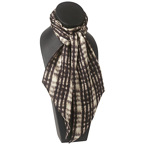 Buy Jaeger Faux Fur Scarf, Dark Multi Online at johnlewis.com