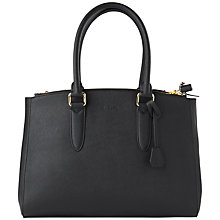 Buy Jaeger Marshall Tote Handbag, Black Online at johnlewis.com