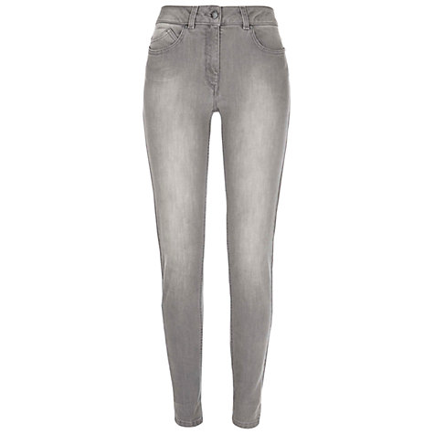 Buy NW3 by Hobbs Skinny Jeans, Grey Online at johnlewis.com