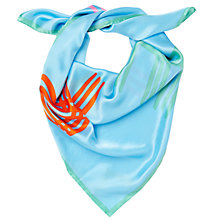 Buy Jaeger Logo Square Scarf Online at johnlewis.com