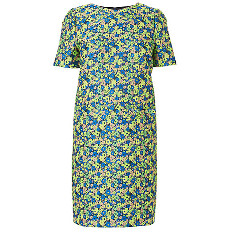 Buy Boutique by Jaeger 60s Jacquard Dress, Light Multi Online at johnlewis.com