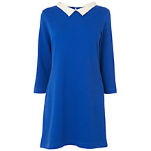 Buy Boutique by Jaeger Sally Jersey Dress, Bright Blue Online at johnlewis.com