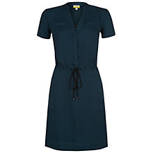 Buy NW3 by Hobbs Theodore Dress, Black Teal Online at johnlewis.com
