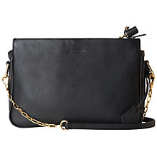 Buy Jaeger Smith Shoulder Handbag, Black Online at johnlewis.com