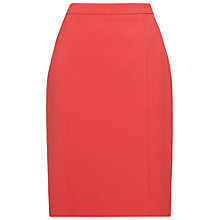 Buy Jaeger Panelled Pencil Skirt, Pink Online at johnlewis.com