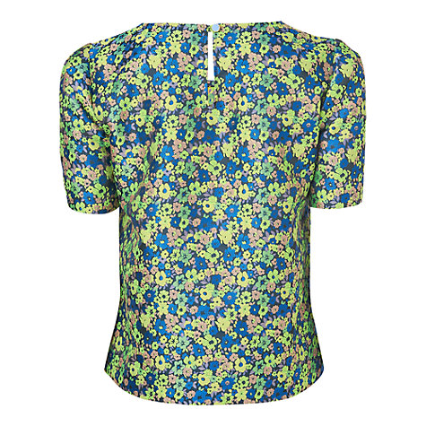 Buy Boutique by Jaeger 60s Jacquard Top, Light Multi Online at johnlewis.com