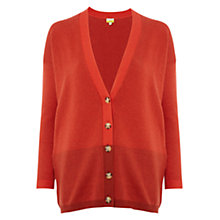Buy NW3 by Hobbs Theodore Cardigan, Saffron Online at johnlewis.com