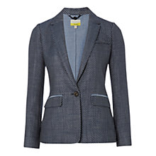 Buy NW3 by Hobbs Spotty Jacket, French Navy Multi Online at johnlewis.com