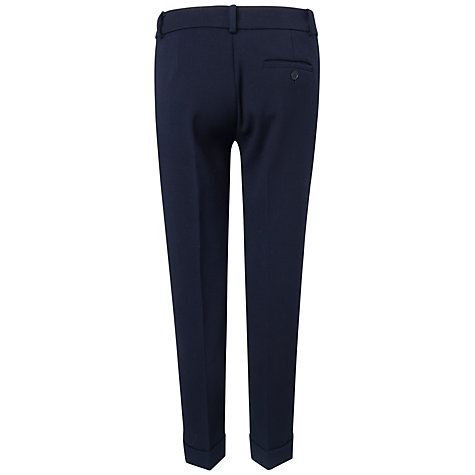 Buy Jaeger London 7/8th Slim Trouser, Navy Online at johnlewis.com