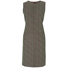 Buy Jaeger Floral Jacquard Dress, Dark Multi Online at johnlewis.com