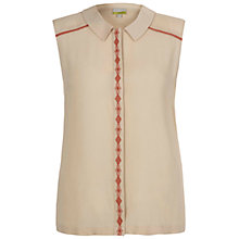 Buy NW3 by Hobbs Florence Top, Cornsilk Beige Online at johnlewis.com