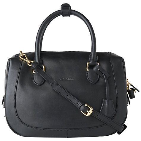 Buy Jaeger Robinson Bowling Handbag, Black Online at johnlewis.com