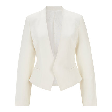 Buy Havren Edge Tuxedo Jacket, Cream Online at johnlewis.com
