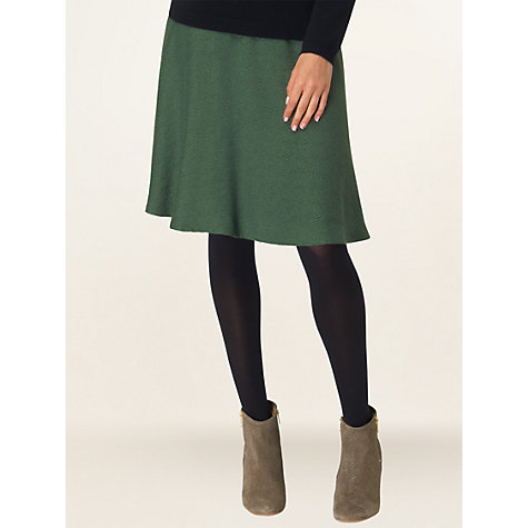 Buy Phase Eight Maisie Jacquard Skirt, Ivy Online at johnlewis.com