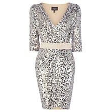 Buy Coast Perla Sequin Dress. Neutral Online at johnlewis.com