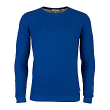 Buy Ted Baker Nathe Stripe Texture Jumper Online at johnlewis.com