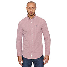 Buy Original Penguin Belan Gingham Shirt Online at johnlewis.com
