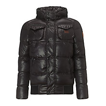 Buy G-Star Raw Whistler Bomber Jacket, Black Online at johnlewis.com