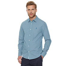 Buy Original Penguin Grandmaster Gingham Shirt, Blue Online at johnlewis.com