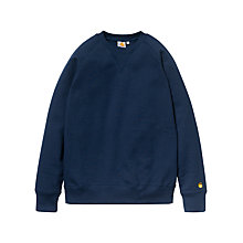 Buy Carhartt Chase Crew Neck Jersey Jumper Online at johnlewis.com
