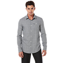 Buy Original Penguin Prince Of Wales Long Sleeve Shirt, Dark Sapphire Online at johnlewis.com