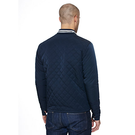 Buy Original Penguin Quilted Ratner Jacket, Total Eclipse Online at johnlewis.com