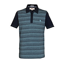 Buy Original Penguin Sovereign Polo Shirt, Dark Sapphire Online at johnlewis.com