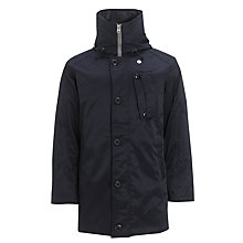 Buy G-Star Raw Mountain Hooded Parka, Japan Blue Online at johnlewis.com