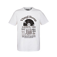 Buy Original Penguin Vinyl Swap T-Shirt Online at johnlewis.com