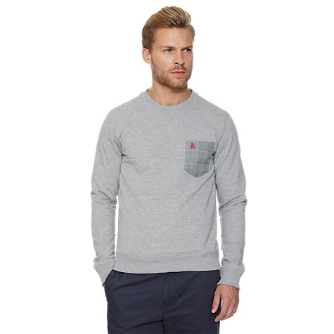 Buy Original Penguin Contrast Pocket Sweatshirt Online at johnlewis.com