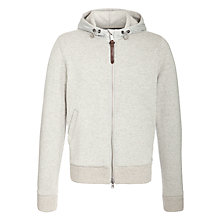 Buy Woolrich John Rich & Bros. Hooded Knit, Grey Online at johnlewis.com