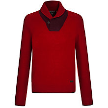 Buy Woolrich John Rich & Bros. Shawl Collar Wool Jumper Online at johnlewis.com
