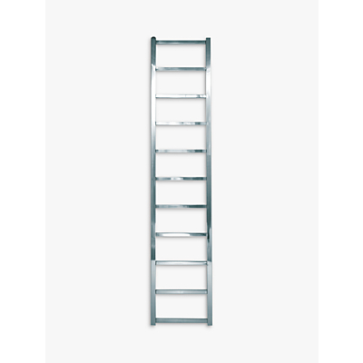 John Lewis Peel 1650 Central Heated Towel Rail and Valves, from the Wall