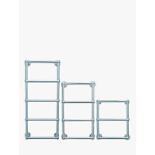 Buy John Lewis Seagrove Central Heated Towel Rail and Valves, from the Wall Online at johnlewis.com