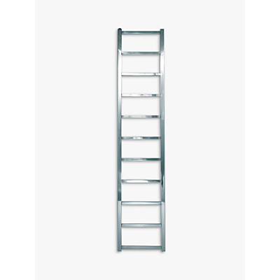 John Lewis Peel 1650 Central Heated Towel Rail and Valves, from the Floor