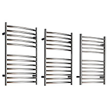 Buy John Lewis Sandsend Central Heated Towel Rail and Valves, from the Wall Online at johnlewis.com