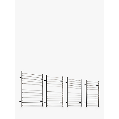 John Lewis St Ives Central Heated Towel Rail and Valves, from the Wall