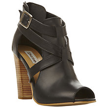 Buy Dune Feebee Cut Out Ankle Boots Online at johnlewis.com
