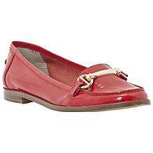 Buy Dune Leo Bright Snaffle Front Loafers Online at johnlewis.com