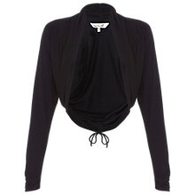 Buy Damsel in a dress Tara Ruched Shrug, Black Online at johnlewis.com