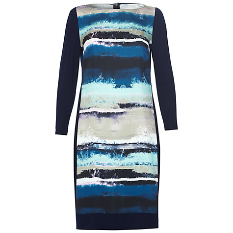 Buy Damsel in a dress Floris Print Dress, Blue Online at johnlewis.com