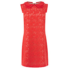 Buy Oasis Collette Dress, Bright Orange Online at johnlewis.com
