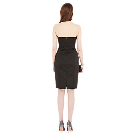 Buy Coast Ana-Sophia Bandeau Dress, Black Online at johnlewis.com