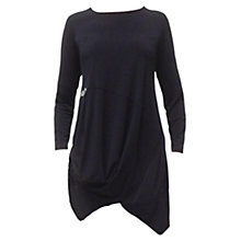 Buy James Lakeland Button Tunic Top, Black Online at johnlewis.com