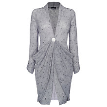 Buy James Lakeland Button Cardigan, Grey Online at johnlewis.com