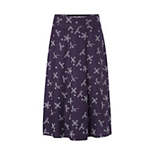 Buy White Stuff Sloane Skirt, Purple Online at johnlewis.com
