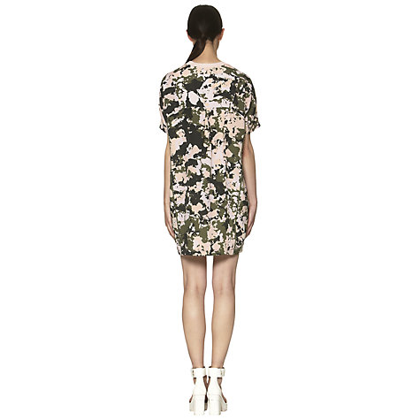 Buy Whistles Terrazo Camouflage Print Pocket Dress,Multi Online at johnlewis.com