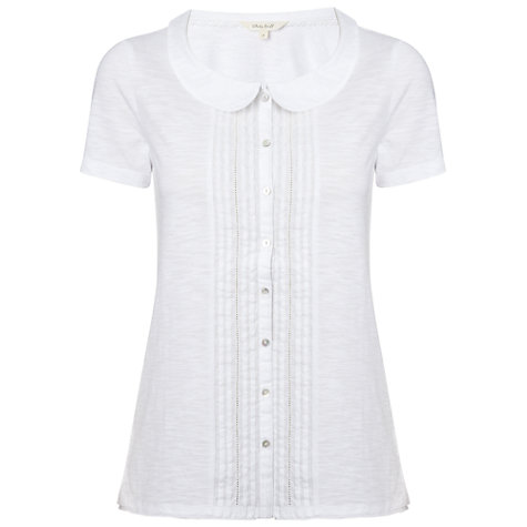 Buy White Stuff Regina Shirt, White Online at johnlewis.com