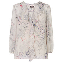 Buy Phase Eight Suki Printed Blouse, Ivory Online at johnlewis.com
